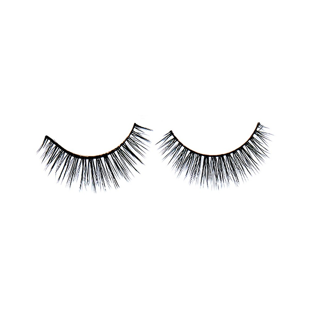 e.l.f. Starstruck Luxe Lash Kit, Medium Clear e.l.f's set of double layer, crisscross lashes instantly opens your eyes and give a naturally smoky liner effect. The lash band is made of soft flexible material allowing the lashes to move easily with every eye shape. The expertly tapered hairs blend seamlessly into your natural lashes. The kit includes lash glue and a precision applicator. how to use: Gently remove lash from tray and trim lash to fit your eye shape. Unscrew the top of the adhesive tube and apply a thin amount of glue along the entire length of the lash strip. Allow glue to sit until tacky, then place lashes as close to the baseline of your own lashes as possible, working from the center out. Hold the lash in place for a few seconds until the lash strip has a chance to hold. To remove lashes, hold a warm damp towel to the eye and gently peel off false lashes from the root. Pro Tip: To intensify the smoky liner effect, smudge a kohl eyeliner along the lash line before applying Starstruck lashes. Color: Medium Clear.