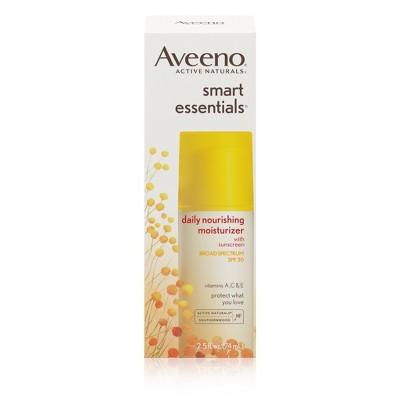 Facial Moisturizer: Aveeno Smart Essentials Daily Nourishing Moisturizer