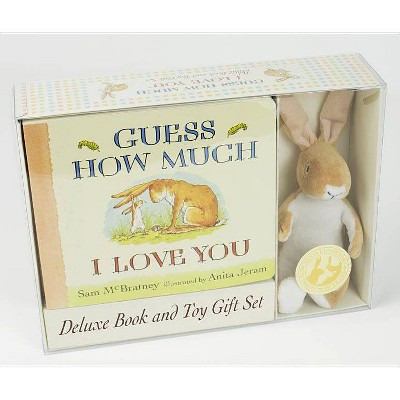 Guess How Much I Love You: Deluxe Book and Toy Gift Set - by Sam McBratney (Mixed Media Product)