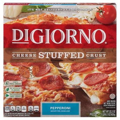 DiGiorno® Cheese Stuffed Crust Pepperoni Frozen Pizza - 22.2oz
