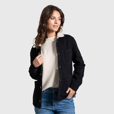 United By Blue Women's Recycled Sherpa-Lined Chore Coat