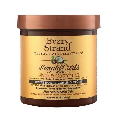 Every Strand Simply Curls Coco Oil & Shea Curl Creme - 15oz