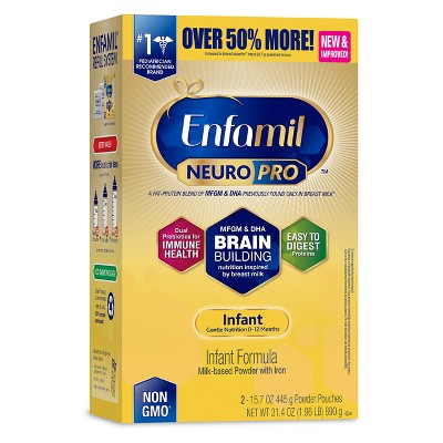 Enfamil NeuroPro Infant Formula Powder Refill Box - 31.4oz