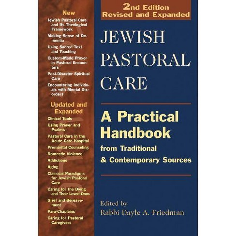Jewish Pastoral Care 2/E - 2 Edition (Paperback) - image 1 of 1