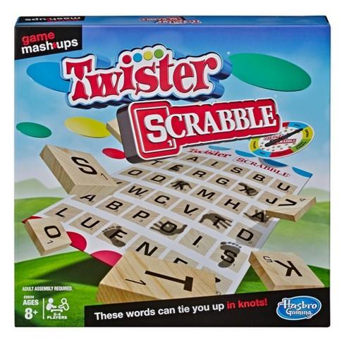 Game Mashups Twister Scrabble Game - image 1 of 3