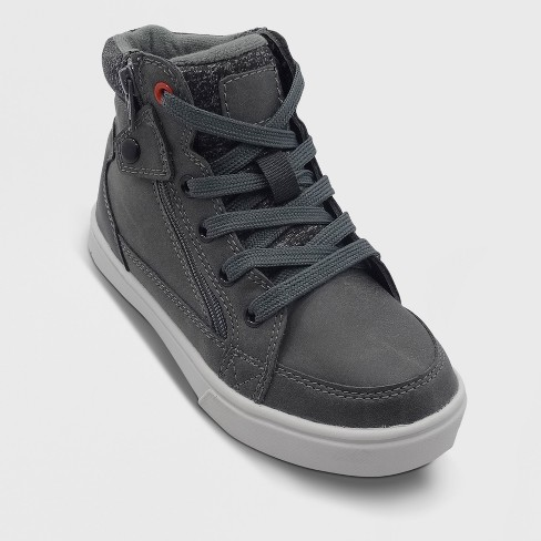 Boys' Geoff High Top Sneakers- Art Class™ Gray - image 1 of 3