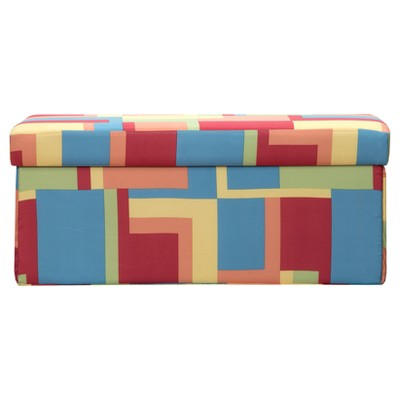 "Crayola Paint Box Ottoman (15""x15"")"