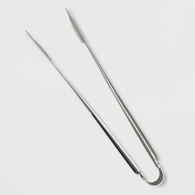 Stainless Steel Grill Tongs - Silver - Made By Design™