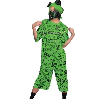 Adult Billie Eilish Classic Halloween Costume