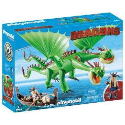Playmobil Ruffnutt and Tuffnutt with Barf and Belch
