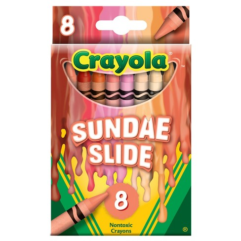 Crayola® Meltdown Crayons, 8ct - Molten Metal - image 1 of 1