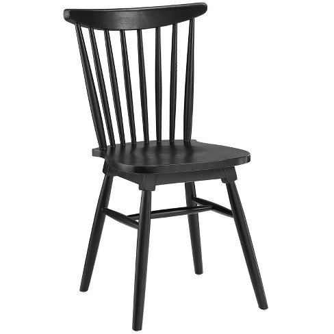 Amble Dining Side Chair Black - Modway - image 1 of 4
