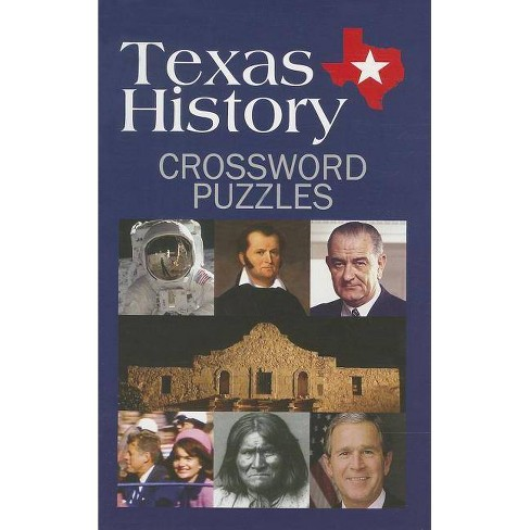 Texas History Crossword Puzzles - (Paperback) - image 1 of 1