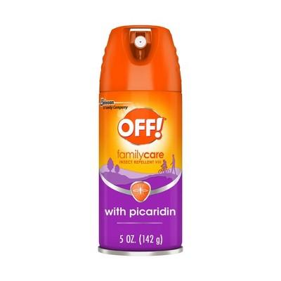 OFF! FamilyCare Picaridin Mosquito Repellent VIII Aerosol 1ct - 5oz