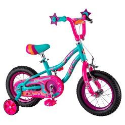 """""""Schwinn Duet 12"""""""" Kids Bike - Teal, Girl's, Blue"""""""