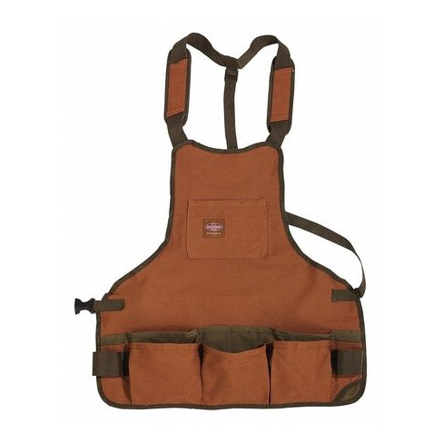 "BUCKET BOSS 80200 Apron,Brown,16 Pockets,23"" W,Canvas - image 1 of 1"