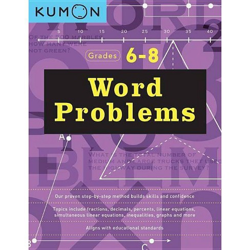 Word Problems Grades 6/8 - (Paperback) - image 1 of 1