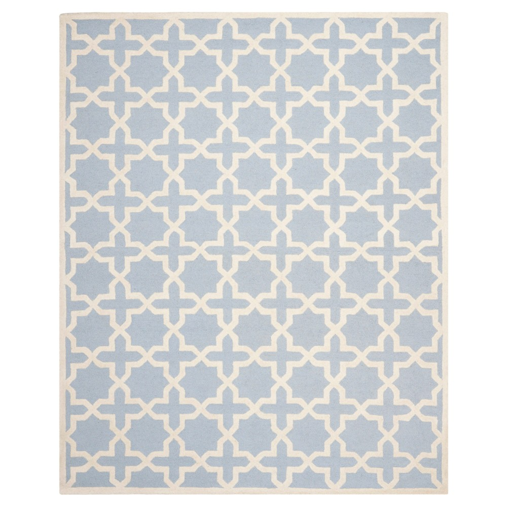 11' x 15' Marnie Rug - Safavieh, Light Blue/Ivory