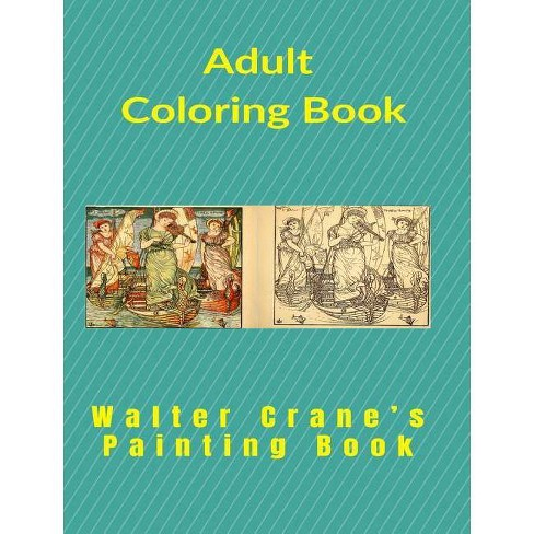 Painting Book - by  Walter Crane (Hardcover) - image 1 of 1