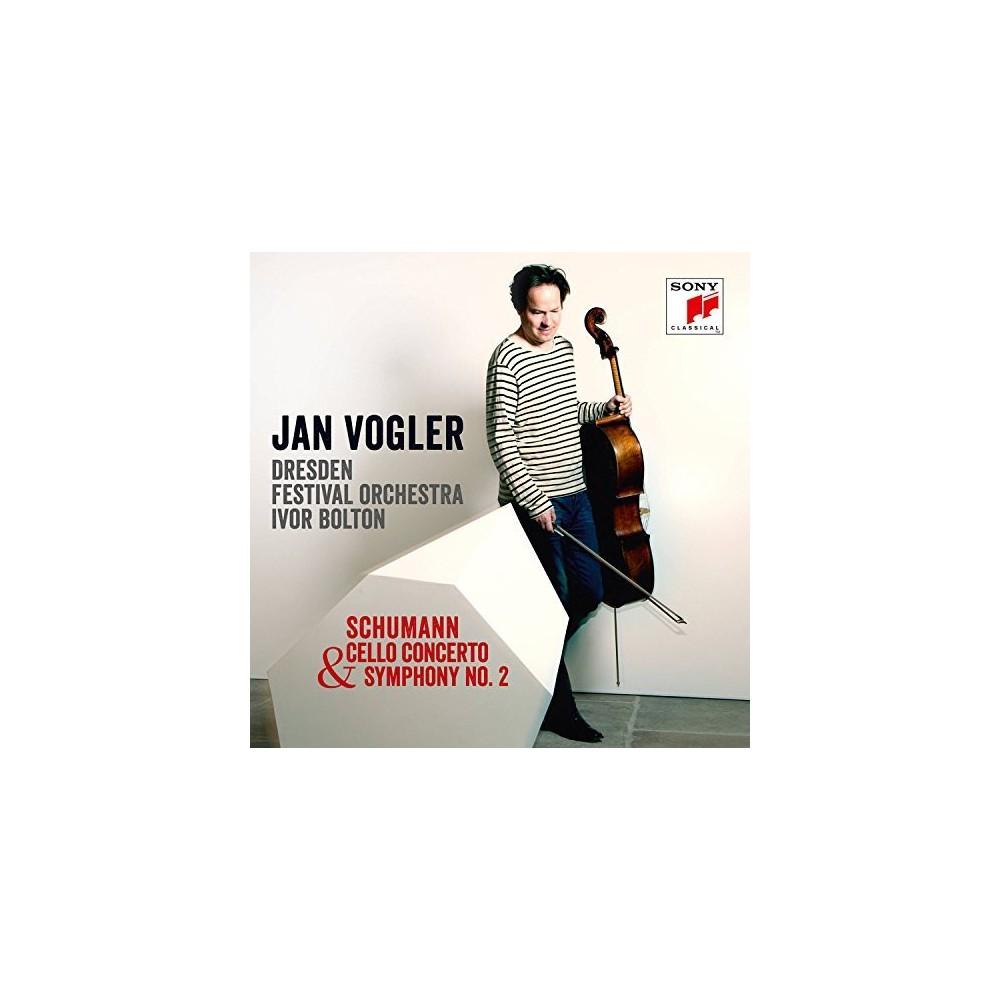 Jan Vogler - Schumann:Cello Cto/Sym No 2 (CD)