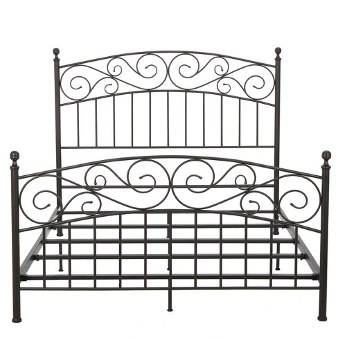 Gardenia Iron Bed Set - Queen - Bronze - Christopher Knight Home - image 1 of 4