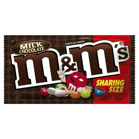 M&M's King Size Milk Chocolate Candies - 3.14oz - image 1 of 1