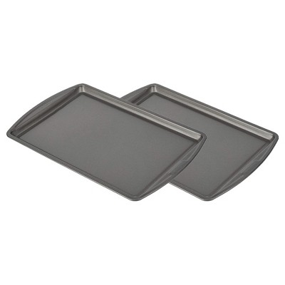GoodCook B4020 13 by 9 Inch Durable Scratch Resistant Nonstick Steel Cookie Sheet Bakeware Kitchen Pan for Versatile Cooking (2 Pack)