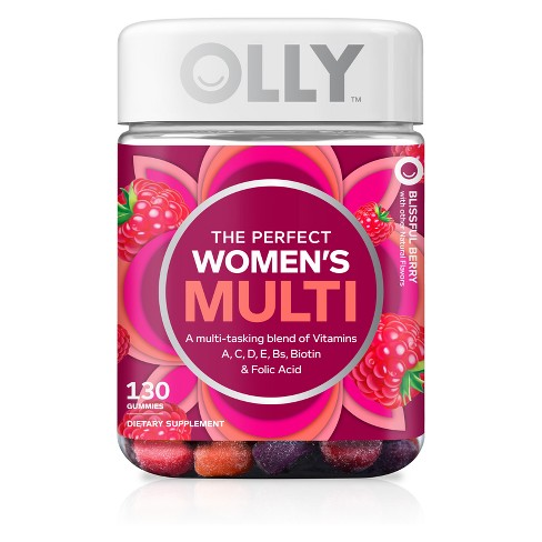 Olly Women's Multivitamin Gummies - Berry - 130ct - image 1 of 4