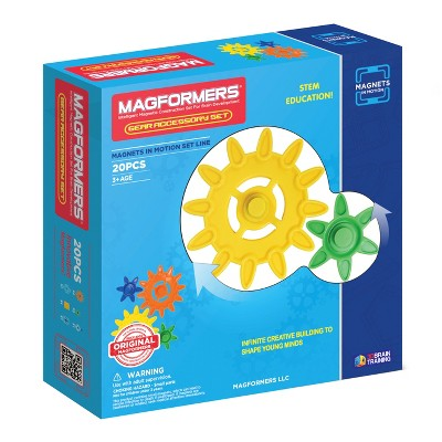 Magformers Magnets in Motion Accessory Set - 20Pc