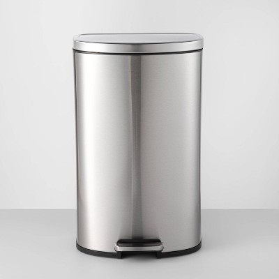 45L D Shape Step Trash Can - Made By Design™