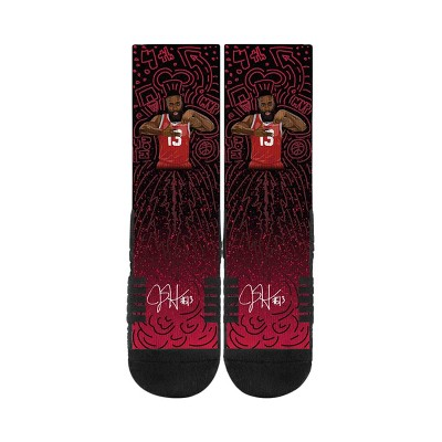 NBA Houston Rockets James Harden Galaxy Socks