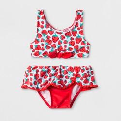 32178be678437 Toddler Girls' DC Comics Wonder Woman One Piece Swimsuit - Red : Target