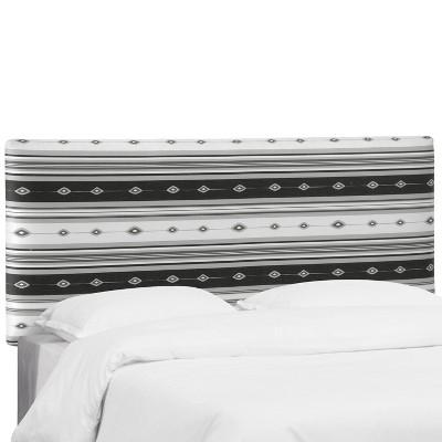 Olivia Upholstered Headboard - California King - Lagos Gray - Skyline Furniture