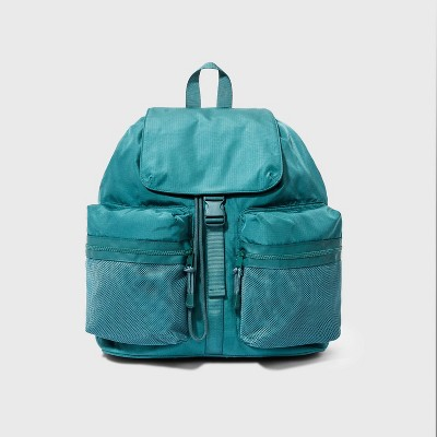 Buckle Flap Drawstring Closure Backpack - Wild Fable™