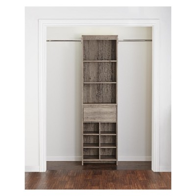 Aldeen Adult Closet System Gray Oak   Room U0026 Joy : Target