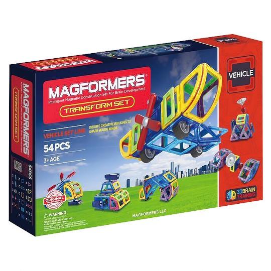 Magformers Transform Set, magnetic building sets image number null