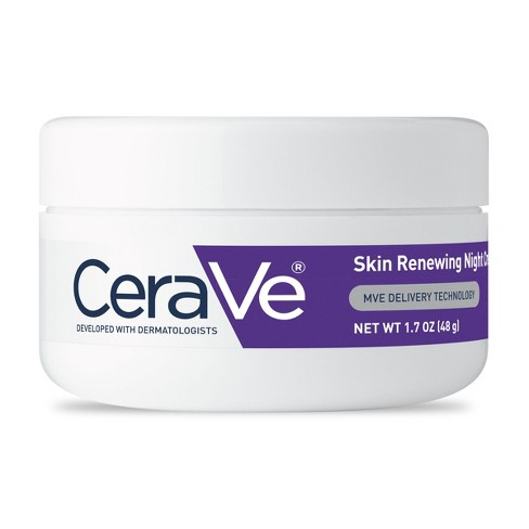 CeraVe Skin Renewing Night Cream to Soften Skin- 1.7oz - image 1 of 4
