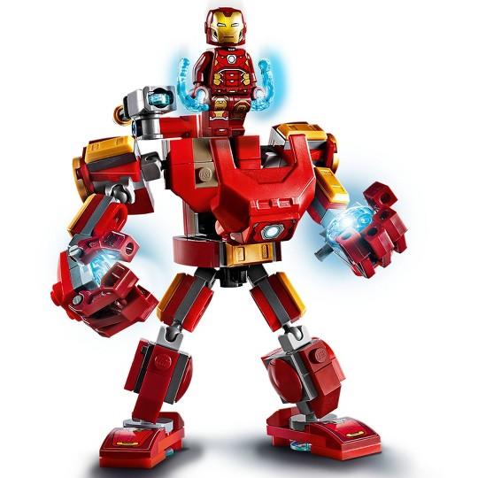 LEGO Marvel Avengers Iron Man Mech Kids' Superhero Mech Figure 76140 image number null