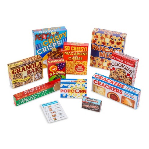 Melissa & Doug Let's Play House Grocery Shelf Boxes - image 1 of 4