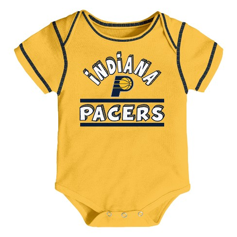 83b8fef6a Indiana Pacers Boys  Rookie 3pk Body Suit Set 6-9 M   Target