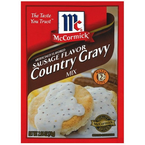 McCormick Sausage Flavor Country Gravy Mix 2.64 oz - image 1 of 1