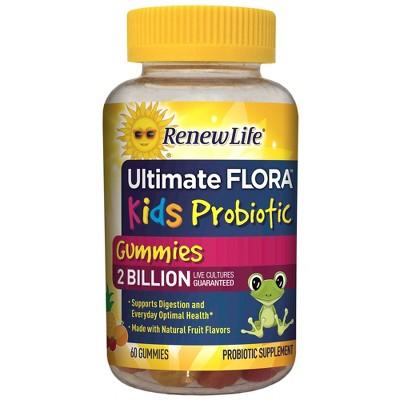 Probiotics: ReNew Life Ultimate Flora Kids Gummies