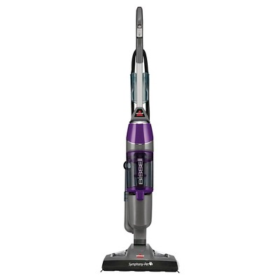 BISSELL Symphony Pet All-in-One Vacuum and Steam Mop- Silver/GrapeVine Purple 1543