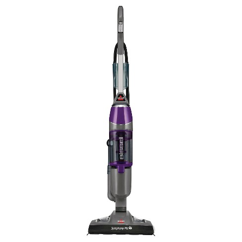 BISSELL® Symphony™ Pet All-in-One Vacuum and Steam Mop- Silver/GrapeVine Purple 1543 - image 1 of 18