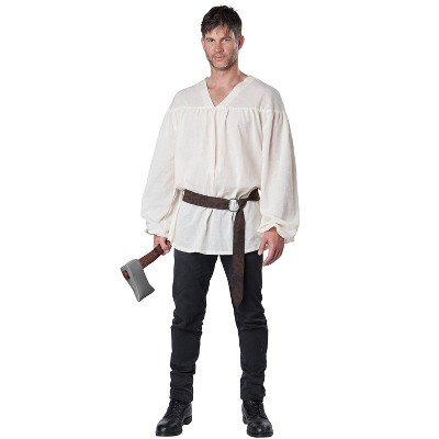 California Costumes Renaissance Peasant Shirt Adult Costume (Beige)