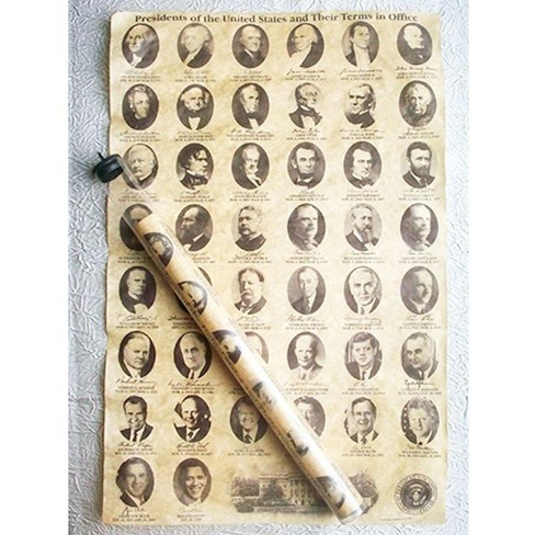 Americana Souvenirs Historic U.S. Document Reproduction: U.S. Presidents - image 1 of 1