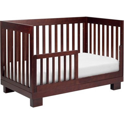 Babyletto Modo 3-in-1 Convertible Crib with Toddler Rail - Espresso, Brown