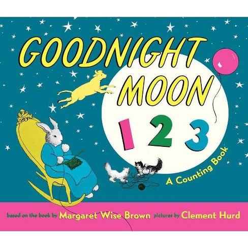 Goodnight Moon 123 Padded Board Book - by  Margaret Wise Brown (Board_book) - image 1 of 1