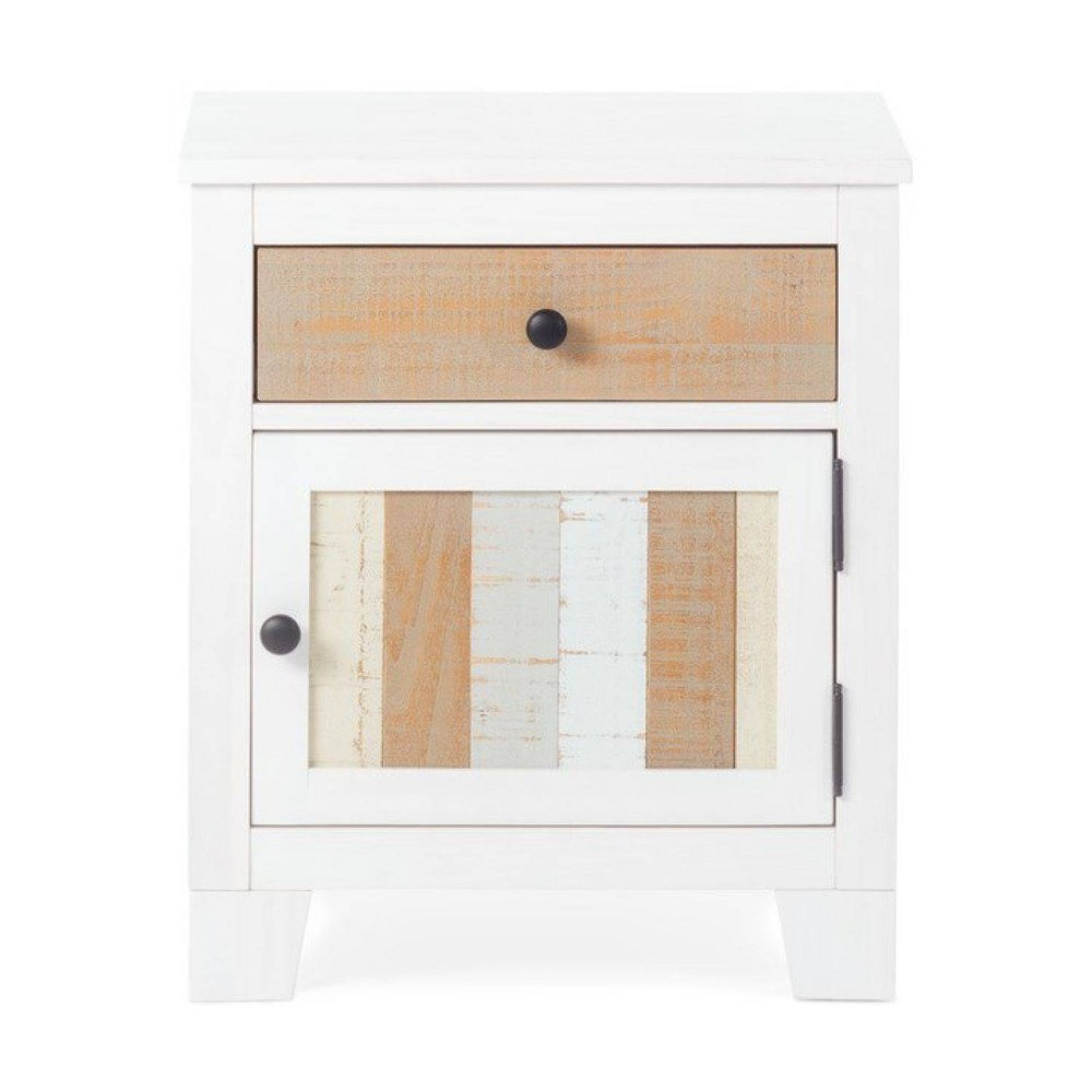 Image of Forever Eclectic Rockport Nightstand - White