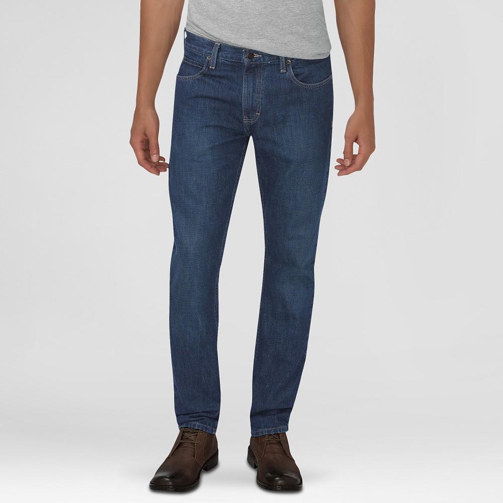 Dickies Men's Slim Fit 5-Pocket Jean Medium Indigo 30X32, Denim Blue